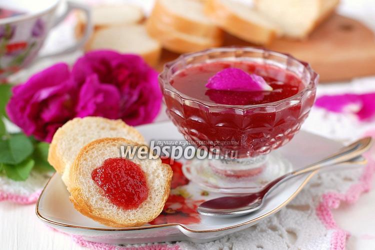 Фото Варенье из лепестков чайной розы и апельсина