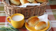 Фото рецепта Пирожки с яйцом и луком печёные