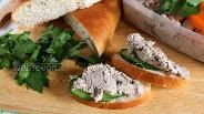 Фото рецепта Паштет из говяжьей печени с картофелем