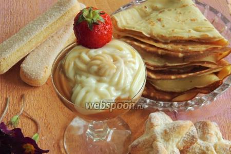 Десерт «Карамель+ваниль»