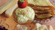 Фото рецепта Десерт «Карамель+ваниль»