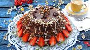 Фото рецепта Торт «Французский крепвиль»