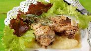 Фото рецепта Курица тушёная в мультиварке