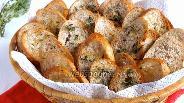 Фото рецепта Домашние сухарики с тимьяном