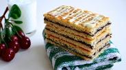 Фото рецепта Датское печенье Hindbærsnitte