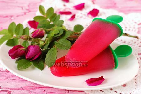 Сорбет из роз