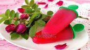 Фото рецепта Сорбет из роз