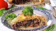 Фото рецепта Хурский мясной пирог