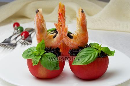 Фаршированные помидоры рисом