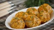 Фото рецепта Куриные тефтели с капустой