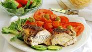 Фото рецепта Куриные грудки с моцареллой