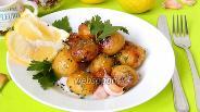 Фото рецепта Запечённый молодой картофель