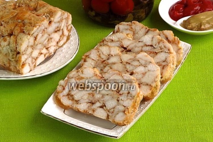Фото Мясной хлебец «Мраморный»