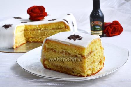 Бисквитный торт «Бейлис»