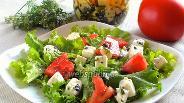 Фото рецепта Брынза в масле с травами