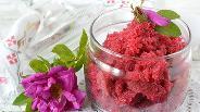 Фото рецепта Роза перетёртая с сахаром