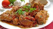 Фото рецепта Чахохбили из курицы