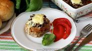 Фото рецепта Бифштексы из индейки с грибным фаршем