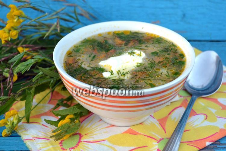 Фото Суп грибной в мультиварке