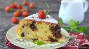Фото рецепта Творожный кекс с шоколадом в мультиварке