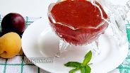 Фото рецепта Сливово-абрикосовый соус с мятой