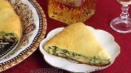 Фото рецепта Осетинский пирог с сыром и зеленью