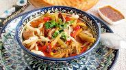Фото рецепта Лагман по-уйгурски