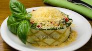 Фото рецепта Салат из печёных овощей