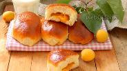 Фото рецепта Пирожки с абрикосами печёные