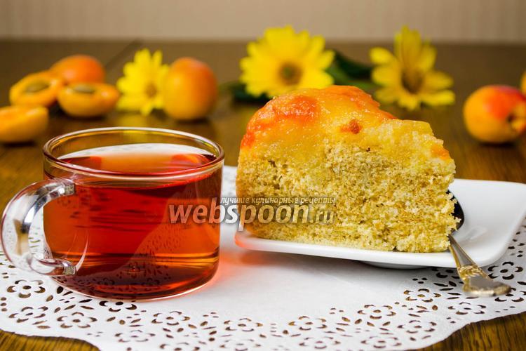 Рецепт Абрикосовый пирог в мультиварке