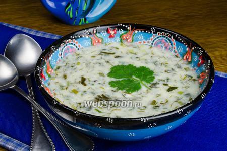 Летний суп Довга