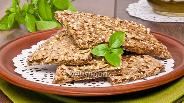 Фото рецепта Хлебцы со злаками