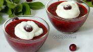 Фото рецепта Кисель из вишни