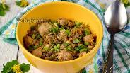 Фото рецепта Чечевица с курицей в мультиварке