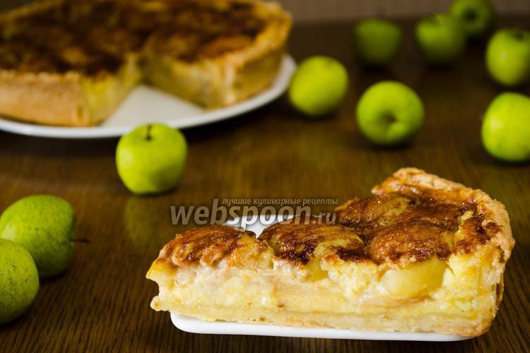 Фото Эльзасский яблочный пирог