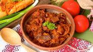Фото рецепта Квашеная капуста с мясом