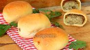 Фото рецепта Пирожки с картошкой и печенью печёные
