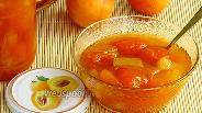 Фото рецепта Абрикосовое варенье с кусочками ананаса