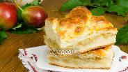 Фото рецепта Грушевый пирог на творожном тесте