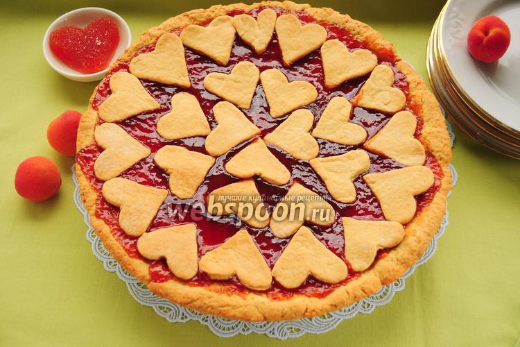 Рецепт Кростата с абрикосовым мармеладом