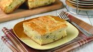Фото рецепта Пирог с брынзой и картофелем