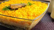 Фото рецепта Салат со шпротами «Берта»