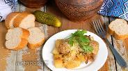 Фото рецепта Фрикадельки в горшочках