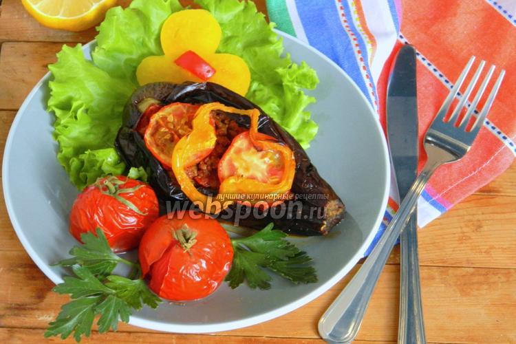 Рецепт Баклажаны по-турецки