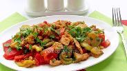 Фото рецепта Куриное филе с овощами