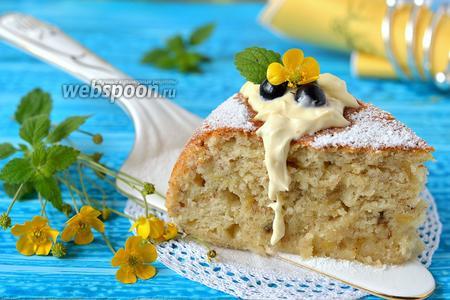 Фото рецепта Банановый пирог в мультиварке