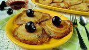Фото рецепта Банановые оладьи с ананасом