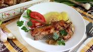 Фото рецепта Индюшиные крылья в сметанном соусе