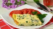 Фото рецепта Фриттата со шпинатом в мультиварке
