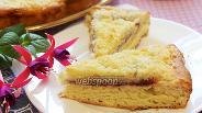 Фото рецепта Немецкий пирог с земляникой